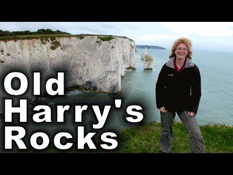 Old Harry's Rocks in Dorset, UK