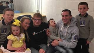 Ed Sheeran Invites This Lucky Fan Backstage After Show