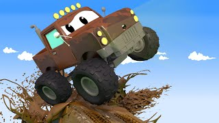 Marley the MONSTER TRUCK is very DIRTY!  - Tom the Tow Truck