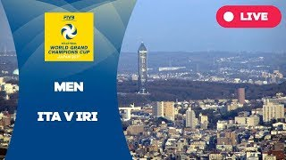ITA v IRI - 2017 Men's World Grand Champions Cup