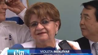 Con apoyo de Japón inauguran banco de Sangre en Hospital San Juan de Dios en Santa Ana