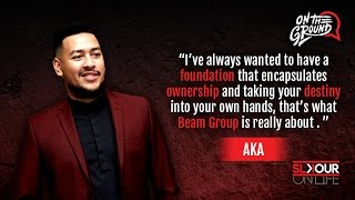 On The Ground: AKA Breaks Down The Beam Group x His Music Philosophy