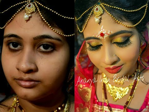 Xxx Mp4 Traditional Bengali Bridal Wedding Makeup Tutorial 3gp Sex
