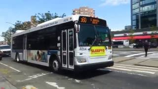 MTA Bus: S.Jamaica bound Orion VII NG 4654 Q60 at 70 Rd/Queens Blvd