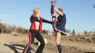 Muay Thai Girl vs Crazy Boxing Girl | Martial Arts Action Scene