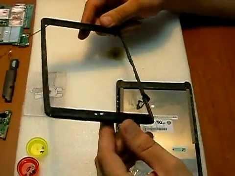 Как изготовить тачскрин своими руками