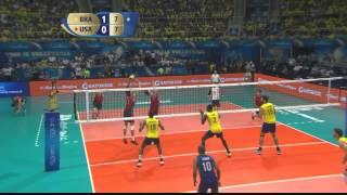 Brazil v USA Highlights: the Clash of warriors