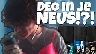 Dion Spuit Deo in zijn Neus!!! (Challenge #2)