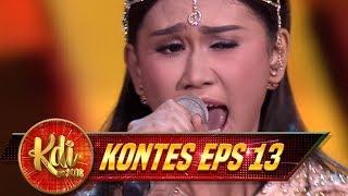 Medley Penampilan Hayati [BUNGA PENGANTIN, EMPAT MATA, GOYANG HEBOH] - Kontes KDI Eps 13 (22/8)
