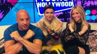 Vin Diesel & Ruby Rose On Their xXx Bromance!