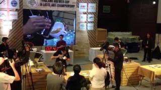 Thailand latte art Championchip 2016 first round
