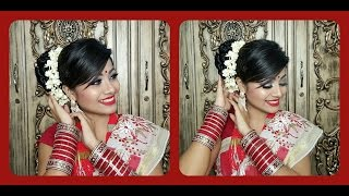 Noboborsho Traditional Look || Bengali New Year 2016 Makeup Tutorial || Pohela Boishakh Tutorial 2