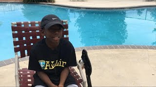 9-year-old boy rescues drowning toddler