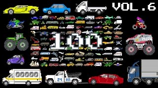 Vehicles Collection Volume 6 - Monster & Street Vehicles, Counting to 100 - The Kids