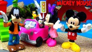 MICKEY CLUBHOUSE ZIP SLIDE AND ZOOM  - EL CLUB DE MICKEY Y LOS SUPER PILOTOTS CON TOBOGAN Y TIROLINA