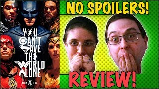 REVIEW! Justice League NO SPOILERS! - Gal Gadot Movie 2017