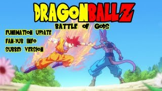 Dragon Ball Z: Battle of Gods - Full Movie Available, Funimation English Dub, & Subtitled Version