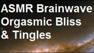 ASMR binaural brainwave for tingle and bliss - feeling high, euphoria, trance state, zoned out.