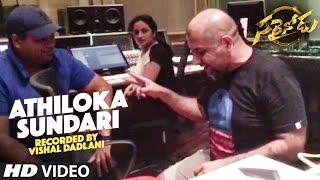 Sarrainodu Songs | Athiloka Sundari Video Song Recording By Vishal Dadlani | Allu Arjun, Rakul Preet
