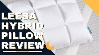 Leesa Hybrid Pillow Review - Best Pillow For Stomach, Back & Side Sleepers?!