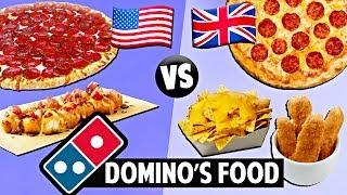 AMERICAN vs. BRITISH Domino
