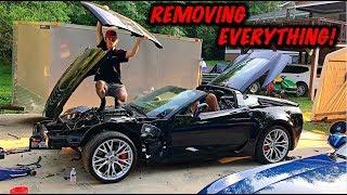 Rebuilding A Wrecked 2017 Corvette Z06 Part 4
