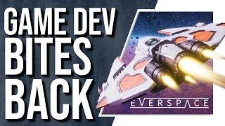 """ Everspace Dev calls Streamer """"F***ing Moron"""""""