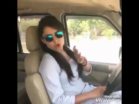 Desi girl in Car