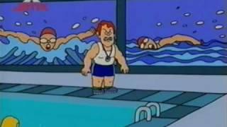 3 Kamarádi a Jerry - Učitelka plavání