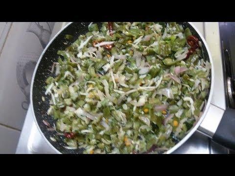 Xxx Mp4 How To Make Tasty Herekayi Palya Ridge Gourd Palya For Chapati Rice In Kannada With English Subtitle 3gp Sex