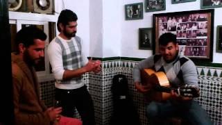 buler�as con Alex,Mario con Fran a la guitarra