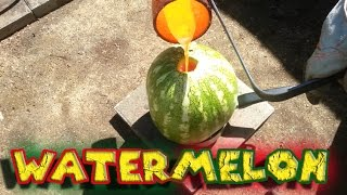 Molten Copper vs Watermelon