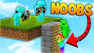 PRO'S VS NOOBS! | Minecraft BED WARS with PrestonPlayz