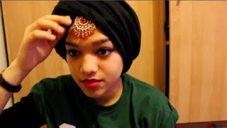 Fringe Twist Turban Hijab Tutorial