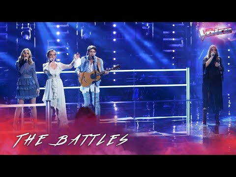 Download Sally Skelton v Homegrown 'The Chain' | The Voice Australia 2018 free