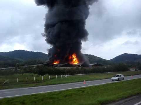 Incêndio em Juquiá 2