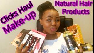 Clicks Drugstore haul 2019: Natural hair and Makeup products haul