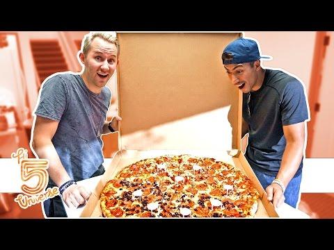 Giant Pizza Eating Challenge