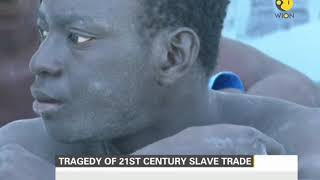 Tragey of 21st century slave trade: Illegal African migrants heading for Europe