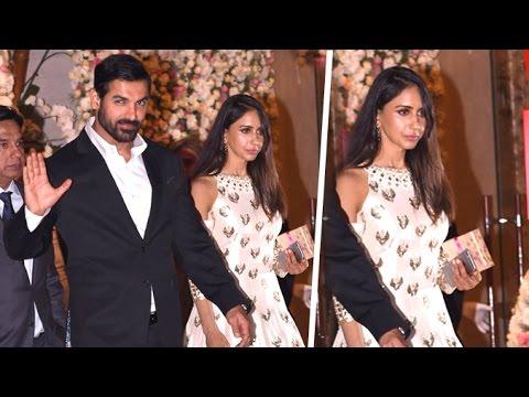 Xxx Mp4 John Abraham With His Beautiful Wife Priya Runchal At Ambani S Party 2016 3gp Sex
