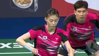 2015 Denmark Open - F - Ko Sung Hyun/Kim Ha Na vs Tontowi Ahmad/Liliyana Natsir