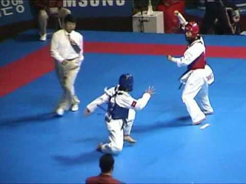 陳詩欣vs越南:2002年釜山亞運會跆拳道比� 實況