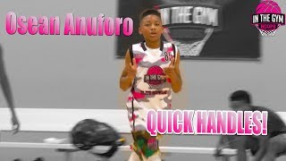 OSean Anuforo DISPLAYED HIS QUICK HANDLE AT THE ITGH SHOWCASE!