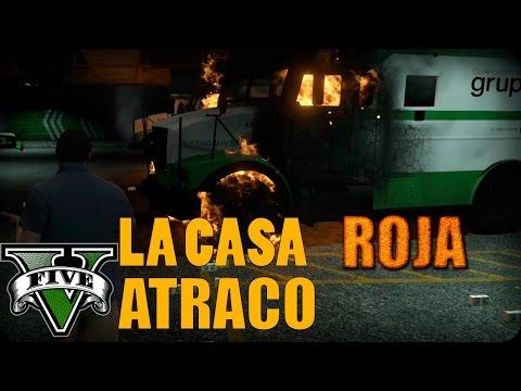 LA CASA ROJA EL ATRACO GTA 5 MOD The Red House