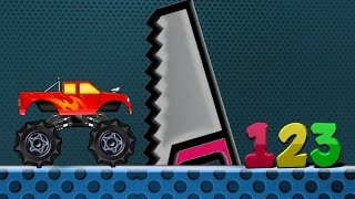 Monster Truck | Monster Truck Numbers | Learn Numbers