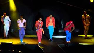 JLS - She Makes Me Wanna (oo oo oo) (live)  FIRST EVER PERFORMANCE - Hull 13/06/11
