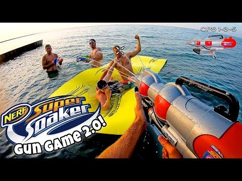 NERF GUN GAME SUPER SOAKER EDITION 2.0 Nerf First Person Shooter