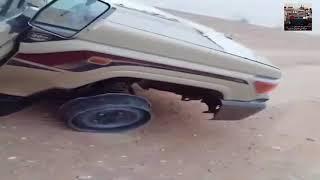 انفجر الكفر على سرعة 200 شوفوا وش صار له 😱😱 !!!