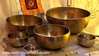 Musica Relaxante para Dormir com Tigela Tibetana Cantante | Meditação 1 Hora