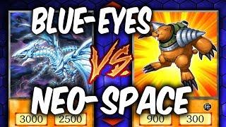 Yugioh NEO-SPACIAN vs DANGER BLUE-EYES (Yu-gi-oh Deck Duel!)